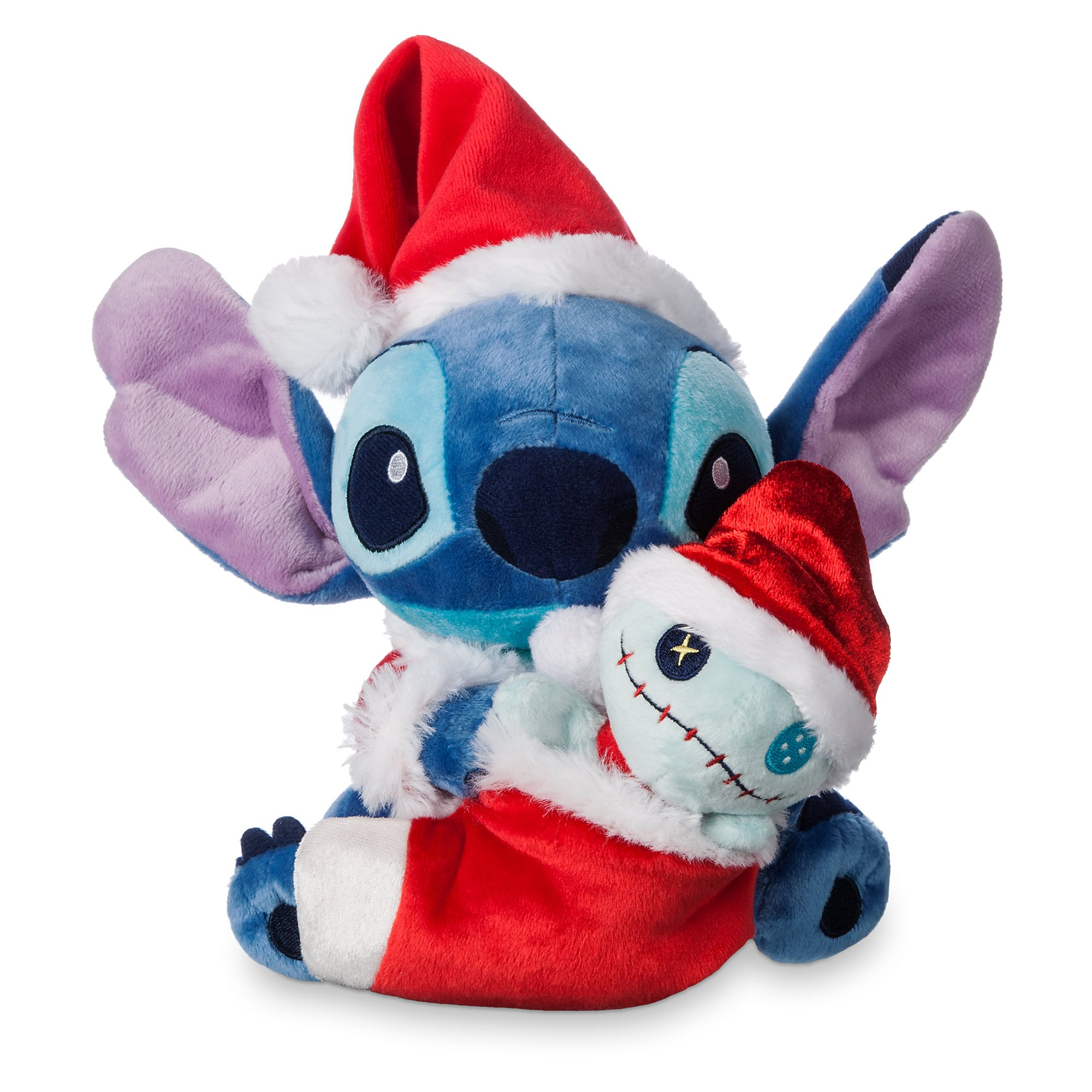 Stitch and Scrump Holiday Plush Set - Small - 6''