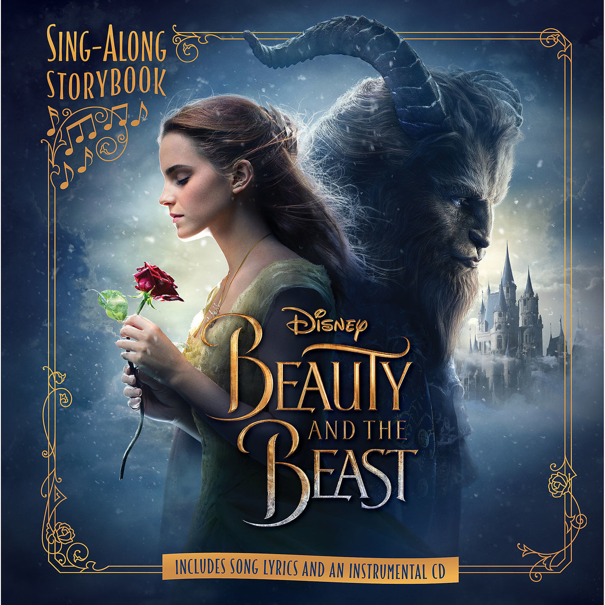 Beauty And The Beast Sing Along Storybook Live Action Film