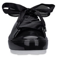 Mickey Mouse Sneakers for Women by Melissa - Black