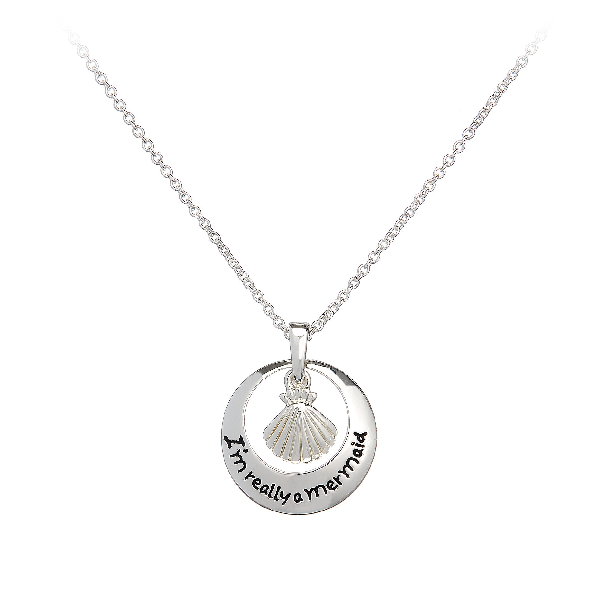 The Little Mermaid ''I'm Really a Mermaid'' Necklace