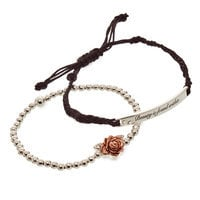 Image of Beauty and the Beast Bracelet Set # 1