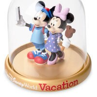 Image of Mickey and Minnie Mouse Vacation Dome Ornament - Walt Disney World # 2