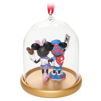 Image of Mickey and Minnie Mouse Vacation Dome Ornament - Walt Disney World # 3