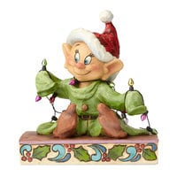 Dopey ''Light Up the Holidays'' Figure by Jim Shore