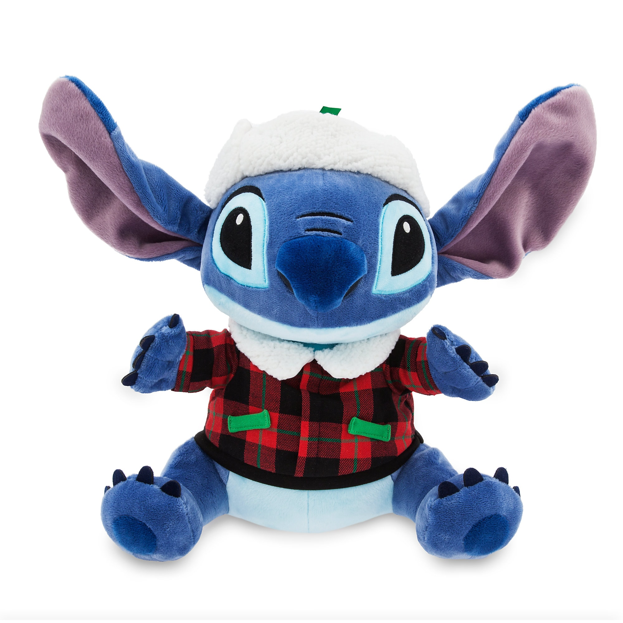 Stitch Holiday Plush - Medium - 12''