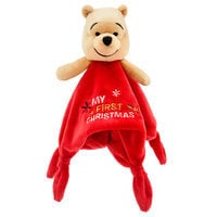 Winnie the Pooh Holiday Plush Blanket for Baby