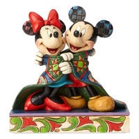 Mickey and Minnie Mouse ''Warm Wishes'' Figure by Jim Shore