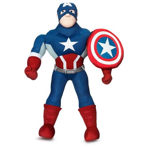 Captain America Plush Doll 14 3 4 Shopdisney