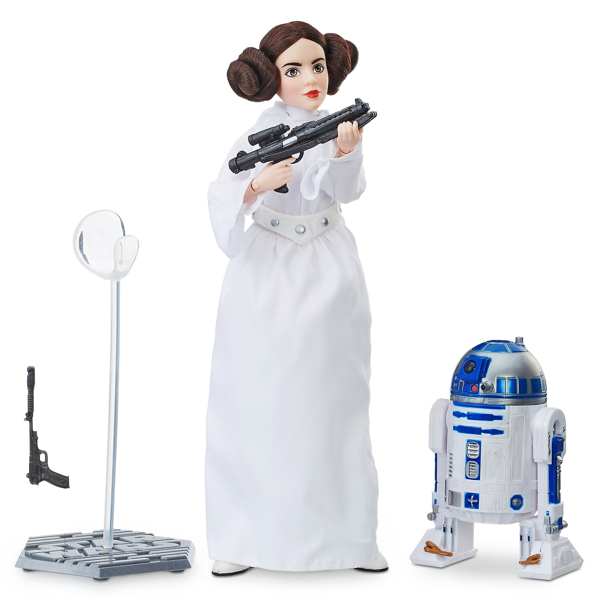 Princess Leia Action Figure - Star Wars: Forces of Destiny - Platinum Edition - Hasbro