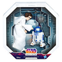 Image of Princess Leia Action Figure - Star Wars: Forces of Destiny - Platinum Edition - Hasbro # 2