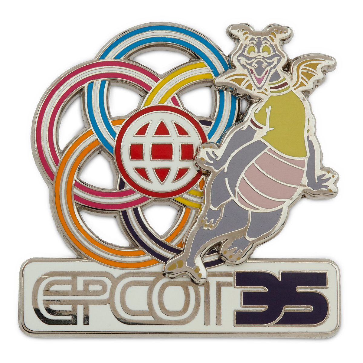 Product Image of Figment Pin - Epcot 35th Anniversary # 1