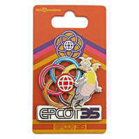 Image of Figment Pin - Epcot 35th Anniversary # 2