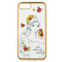 Image of Belle Sketch iPhone 7 Plus/6 Plus/6S Plus Case # 1