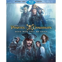 Image of Pirates of the Caribbean: Dead Men Tell No Tales Blu-ray Combo Pack # 1