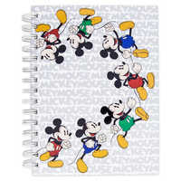 Image of Mickey Mouse Spiral Journal # 1