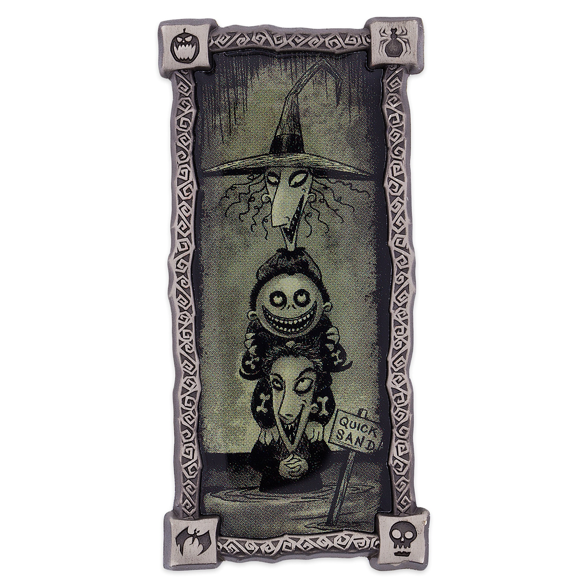 Lock, Shock, and Barrel Haunted Mansion Portrait Pin
