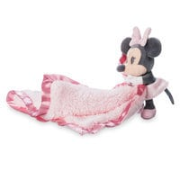 Minnie Mouse Plush Layette Blanket - Baby