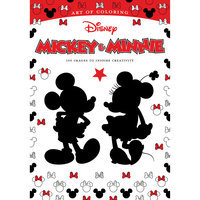 Mickey & Minnie Art of Coloring Book