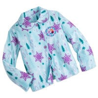 Anna and Elsa Flannel PJ Set for Girls