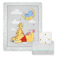 Image of Winnie the Pooh - 3-Piece Crib Bedding Set # 1