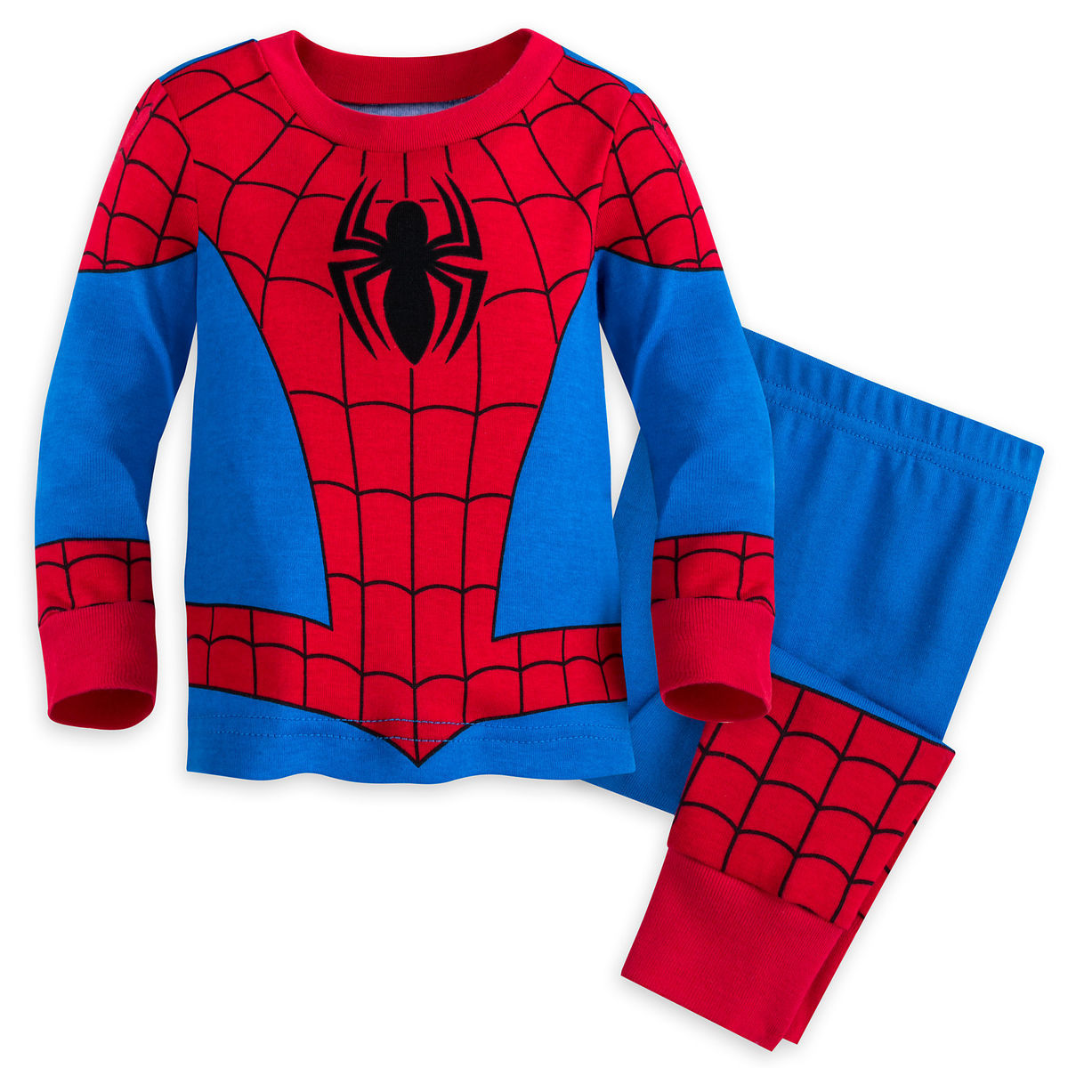 Product Image Of Spider Man Pj Pals Set Baby 1