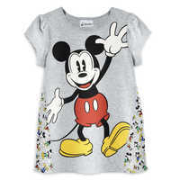 Image of Mickey Mouse Puff-Sleeve T-Shirt - Girls # 1