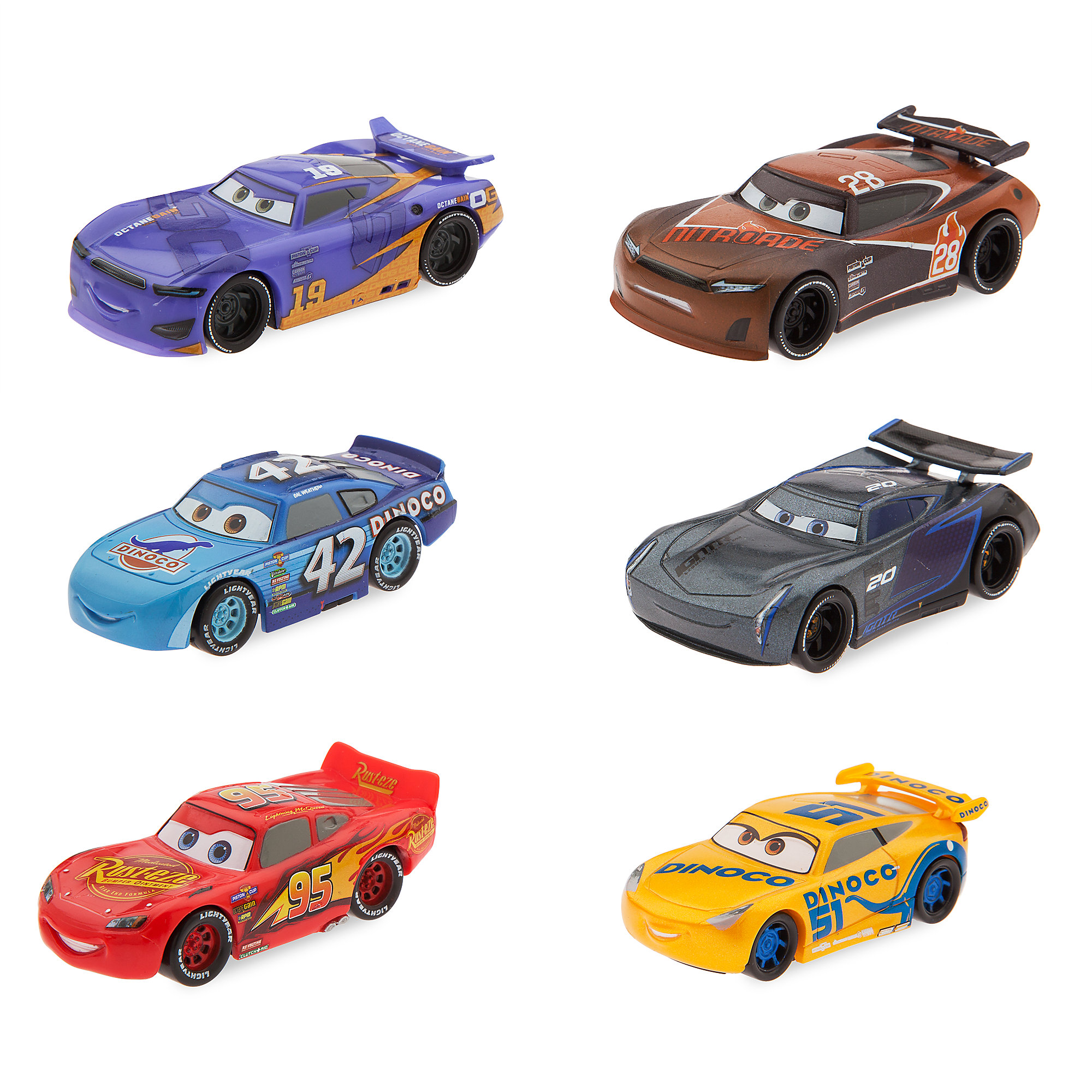 Cars 3 Figure Play Set
