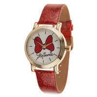 Image of Minnie Mouse Bow Watch - Adults # 1