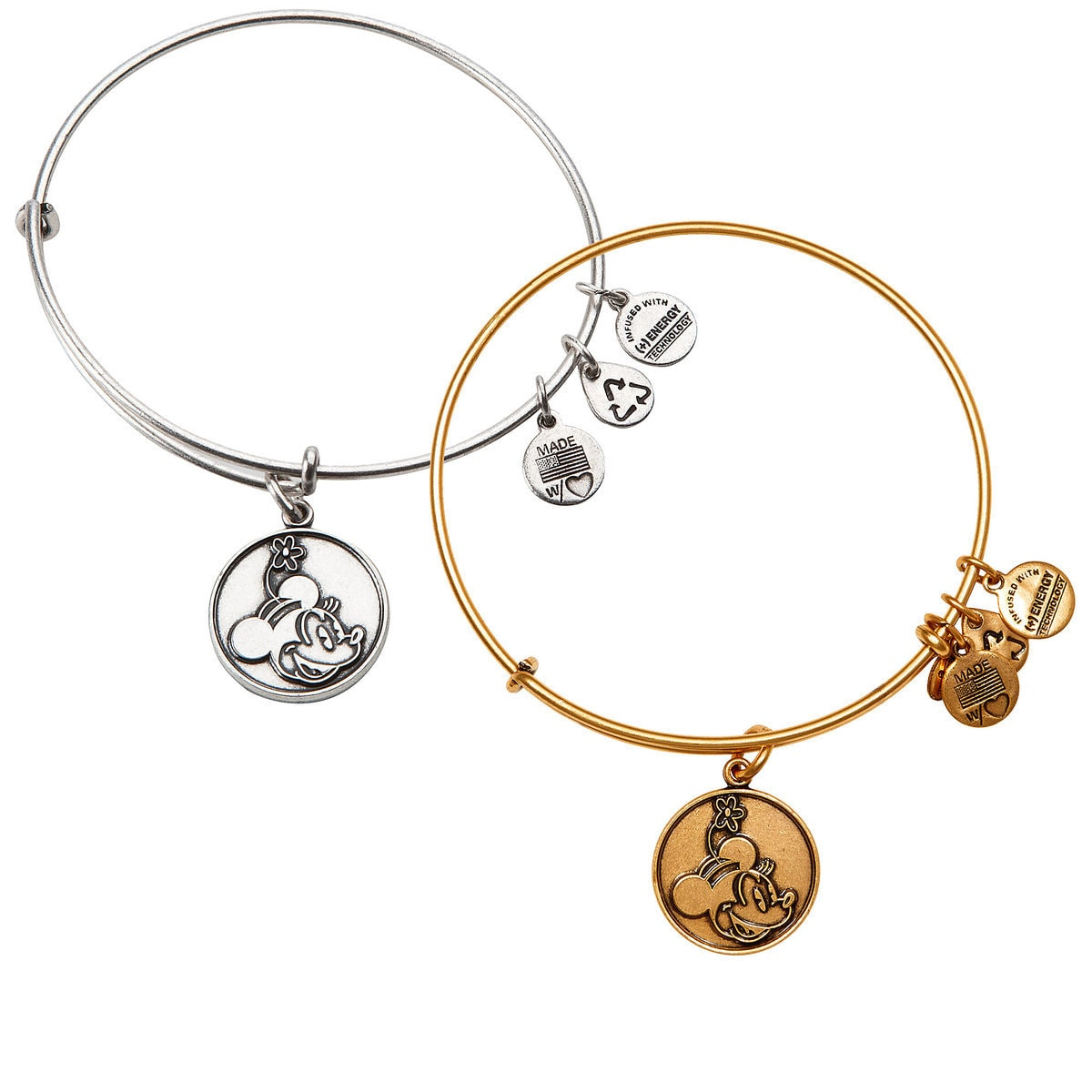 c188b41c9 Product Image of Minnie Mouse Bangle by Alex and Ani # 1