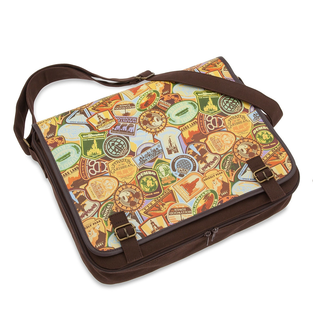 Product Image of Disney Parks Deluxe Pin Trading Bag - Large # 1