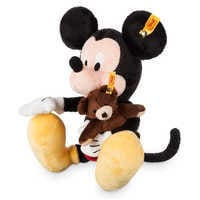 Image of Mickey Mouse Plush by Steiff - 6 1/4'' # 4