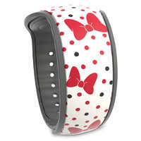 Image of Minnie Mouse Bow and Polka Dot MagicBand 2 # 1