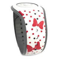 Image of Minnie Mouse Bow and Polka Dot MagicBand 2 # 2
