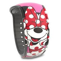 Image of Minnie Mouse Bow Signature MagicBand 2 # 1