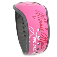 Image of Minnie Mouse Bow Signature MagicBand 2 # 2
