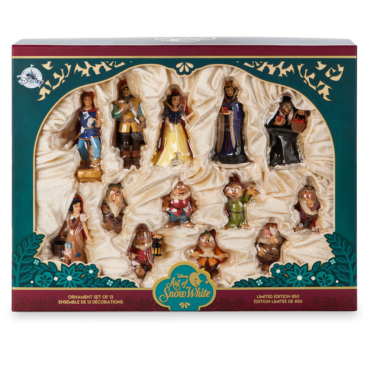 Art of Snow White Ornament Set - Limited Edition