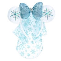 Minnie Mouse Snowflake Headband