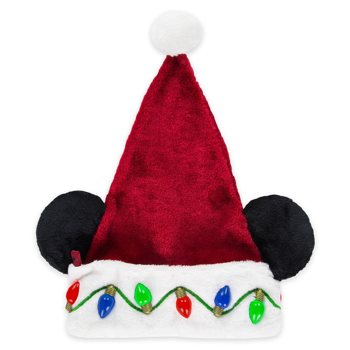 Mickey mouse light up santa hat adults shopdisney product image of mickey mouse light up santa hat adults 1 maxwellsz