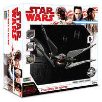 Image of Kylo Ren's TIE Fighter Model Kit - Star Wars: The Last Jedi # 5