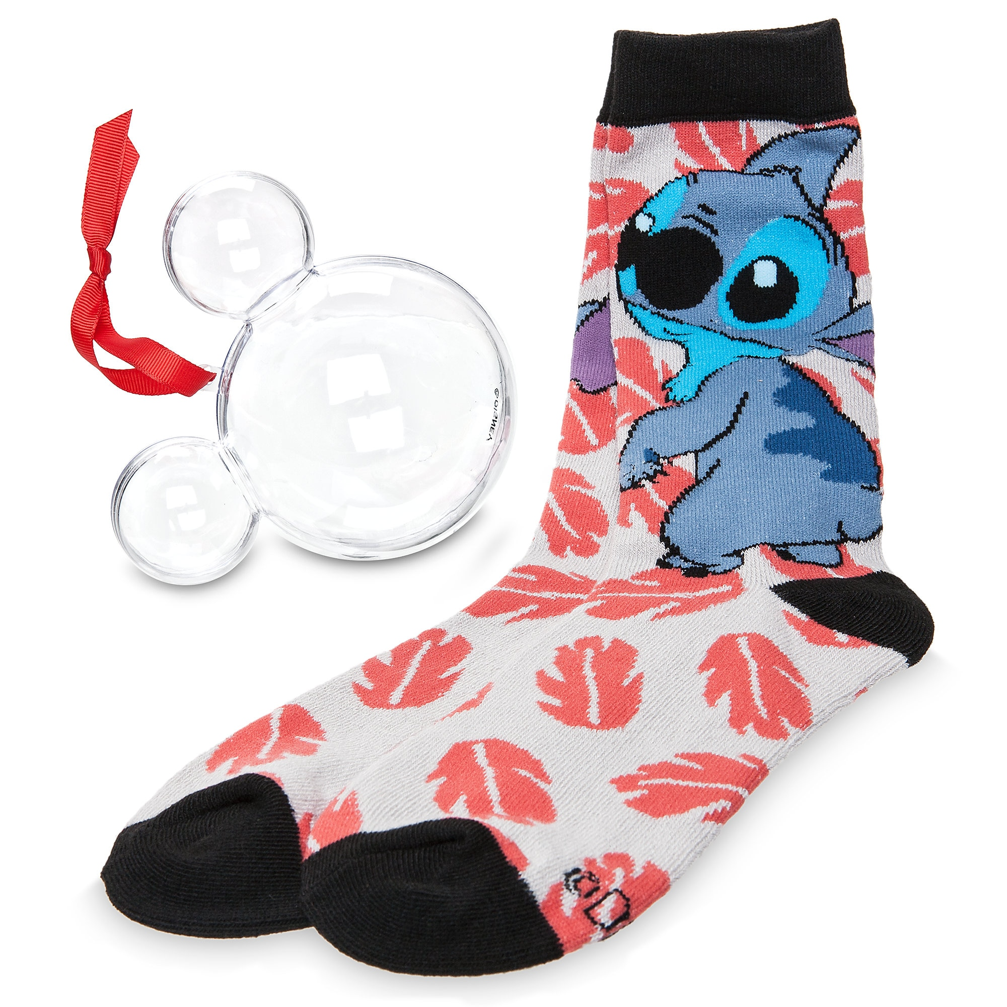 Stitch Socks in Ornament - Adults
