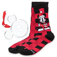 Mickey Mouse Holiday Socks in Ornament - Adults