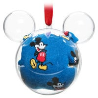 Mickey Mouse Socks in Ornament - Adults