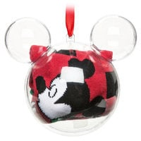 Mickey and Minnie Mouse Socks in Ornament - Women