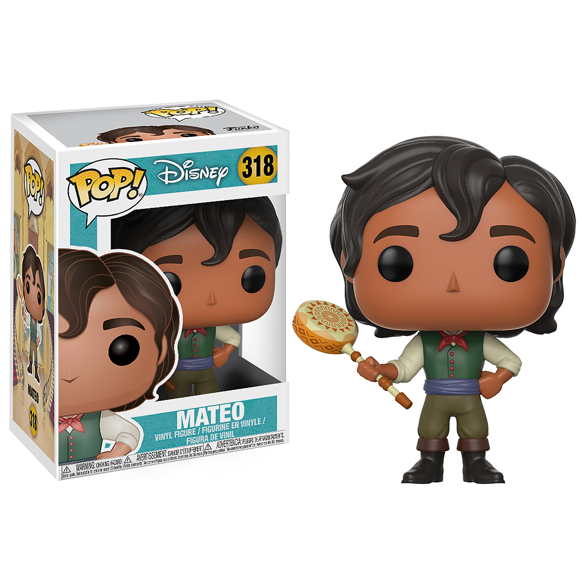 Mateo Pop! Vinyl Figure - Elena of Avalor - Funko