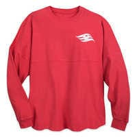 Image of Disney Cruise Line Red Spirit Jersey - Adults # 1