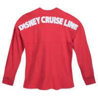 Image of Disney Cruise Line Red Spirit Jersey - Adults # 2