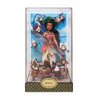 Image of Moana and Hei Hei Doll Set - Disney Designer Fairytale Collection - Limited Edition # 2