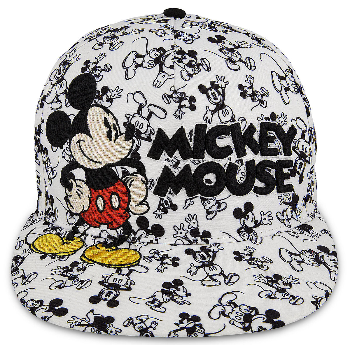 7adf20e280905 Product Image of Mickey Mouse Allover Baseball Cap - Adults   1