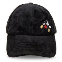 Image of Mickey Mouse Embroidered Baseball Cap # 1