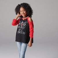 Image of Snow White ''Heart'' Top for Tweens # 2